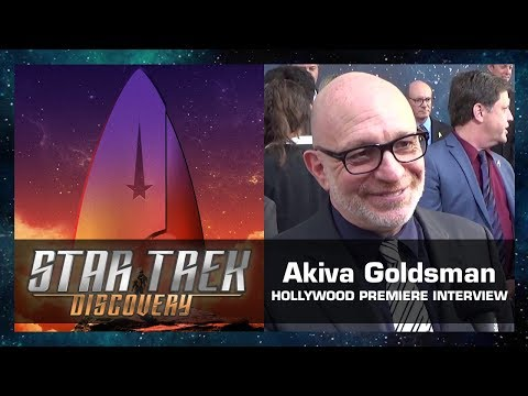 Akiva Goldsman   Star Trek: Discovery Hollywood Premiere Sept. 19, 2017
