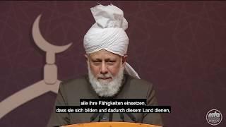 Auszug aus Rede Seiner Heiligkeit | Kalif in Deutschland (5)