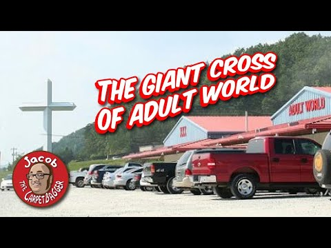 The Giant Cross of Adult World - LaFollette, TN