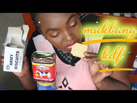 Mukbang Kenya KDF snacks&meal + Story time how i got my first job after graduating from UNI