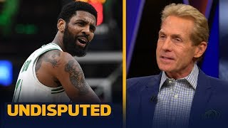 Kyrie 'burned bridges' with Celtics teammates & it shows vs. Bucks — Skip Bayless | NBA | UNDISPUTED