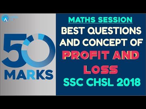 SSC CHSL 2018 | Profit and Loss | Maths | Online Coaching For SSC CHSL