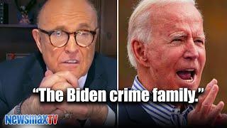 Giuliani calls out 'BIG GUY' Biden and his crime family