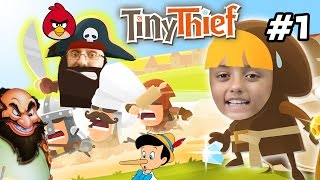 FGTEEV Lex & Chase play TINY THIEF! Disney Pinocchio Themed Escape Map Challenge (FGTEEV Gameplay)