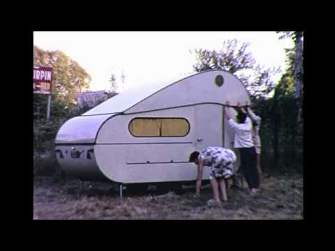 Camping Caravaning In England & France 1960's