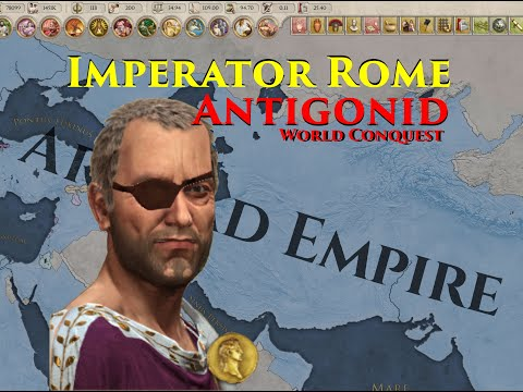 Imperator Rome Antigonid World Conquest Timelapse, Come on It's Time to Go (Meander) |