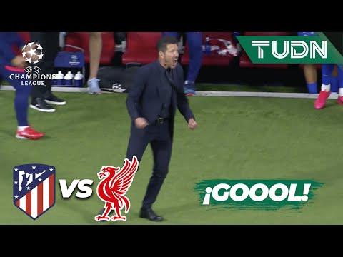 ¡PARTIDAZO! Gol del Atleti   Atl Madrid 1-2 Liverpool   Champions League 21/22 - J3   TUDN