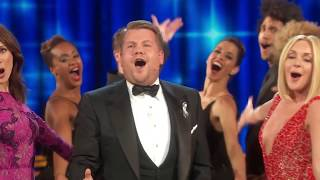 James Corden's Tony Awards 2016 Opening with Musical Titles