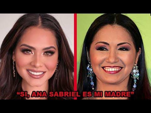 Andrea Meza revela que la cantante Ana Gabriel es su verdadera madre