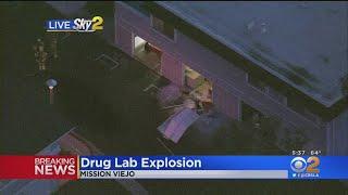 3 Injured After Suspected Illegal Drug Lab Explodes In Mission Viejo