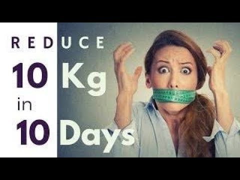 How to Lose Weight Fast 20 Kg in 10 days, Lose belly fat Overnight | Lose weight in 1 Week