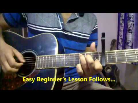 Chunar (ABCD 2) Finger Picking Guitar Lesson #6 | Arijit Singh