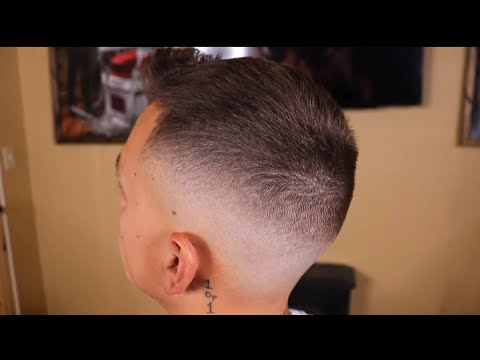 Mid-High Skin Fade Haircut Tutorial