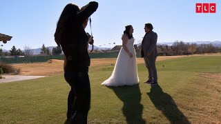 Watch Tony's Reaction As He Sees Mykelti In Her Wedding Dress | Sister Wives