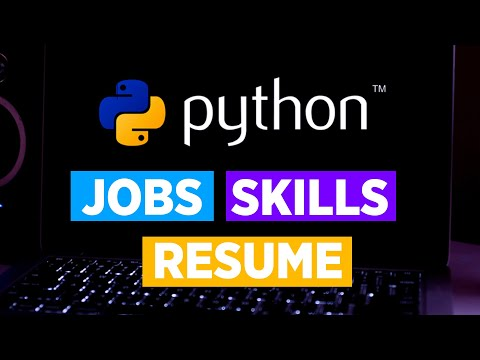Python Developer Skills 2020 | Python Developer Resume, Jobs