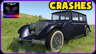 BeamNG - 1927 Auriga Heron - CRASH TESTING Compilation