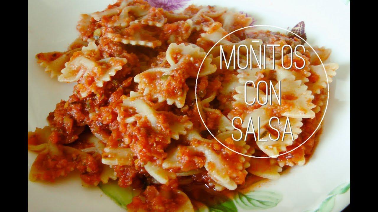 Cómo Hacer Pasta Carne Y Verduras Picadas Salsa Italiana Receta Fácil Mediterranean Diet