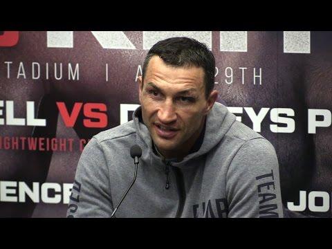 Joshua v Klitschko - Wladimir Klitschko FULL Post-Fight Press Conference *WITH THE BEST AUDIO*