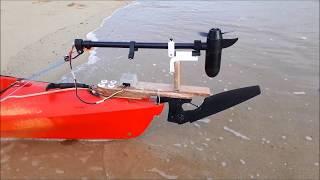 essai moteur kayak Saint Malo