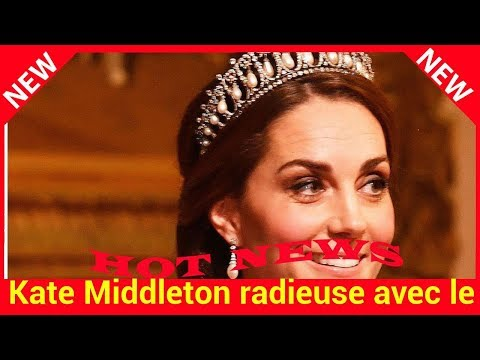 Kate Middleton radieuse avec le prince William : elle rend hommage à Diana en portant sa tiare