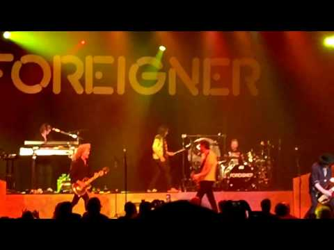 Foreigner - Hot Blooded. Fayetteville, NC. 2-25-2017 Crown Theatre.