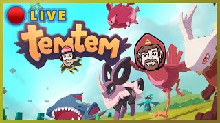 We out here catching them Poke...I mean Temtem. Come stay awhile! ♥