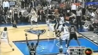 Spurs 42-15 Run vs. Mavericks (2003 WCF Game 6)