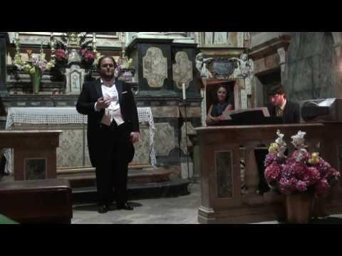 tenore matteo bertarelli chiesa S. Marta Museo della Passione Sordevolo - e lucevan le stelle