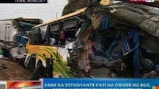 NTG: Update kaugnay ng aksidente sa Tuba, Benguet na kung saan 7 ang patay