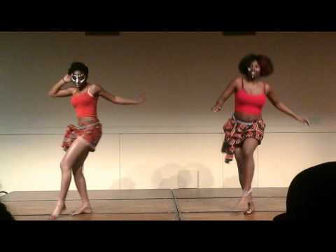 WSU AFA presents Africa Night 2016 Congolese Dance.