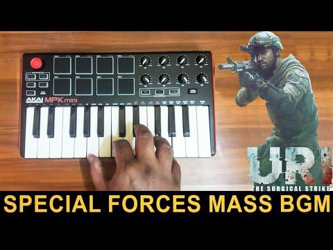 URI Special Forces Mass Bgm | Cover By Raj Bharath | Shashwat Sachdev | Vicky Kaushal & Yami Gautam