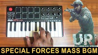 Gambar cover URI Special Forces Mass Bgm | Cover By Raj Bharath | Shashwat Sachdev | Vicky Kaushal & Yami Gautam