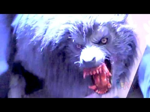 FULL An American Werewolf In London Haunted House At Halloween Horror Nights 2014, Hollywood