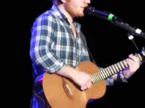 Ed Sheeran New Sg AmsterdamSweet Mary Jane 5292015  FRT ROW