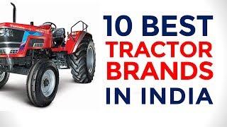 10 Best Tractor Brands in India | Top Tractors | 2017