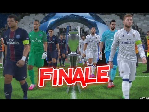 PSG vs Real Madrid | Finale UEFA Champions League 2016/2017 | PES 2017 #07