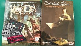 Recensioni di Chiara: Mythos VS Sherlock Holmes: Consulente Investigativo