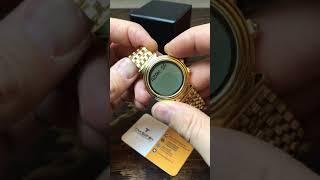 Имя. Настройка часов Alfajr WF14. Написать своё имя