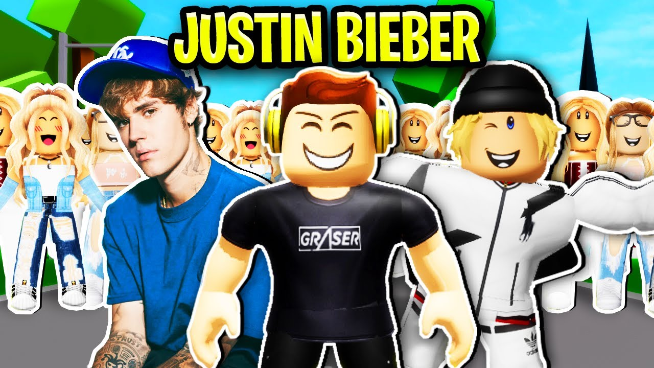 Justin Bieber Adopted Me In Roblox Brookhaven.. 😲👦