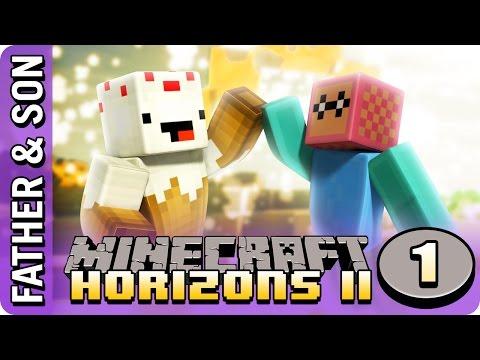 Minecraft Horizons II (#1) Through the Portal
