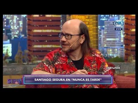"""Entrevista Santiago Segura """"Nunca es tarde"""" NET Promocionando """"Casi leyendas"""""""