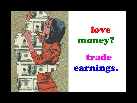 How to trade earnings the right way! // Stock earnings, trading earnings reports with options