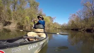 Canoe Fishing in November GoPro