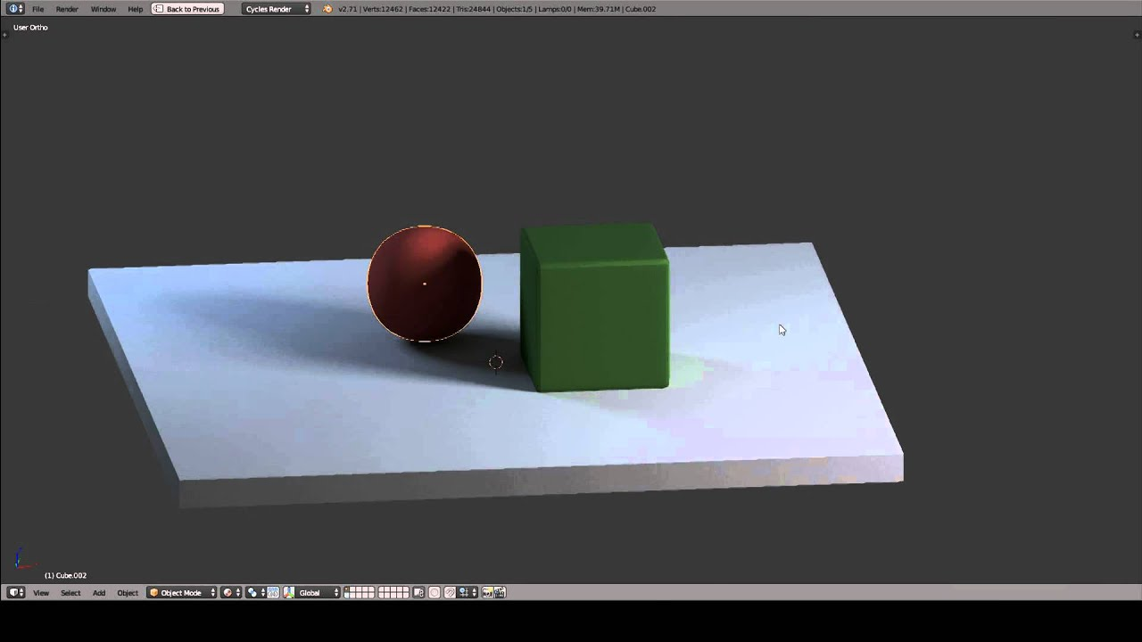Blender's Cycles baking and Sketchfab Uploader Quickstart Guide
