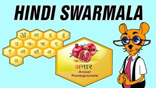 Learn Hindi Swarmala | Hindi Alphabets, Hindi Vowels, & Hindi Vyanjan For Kids