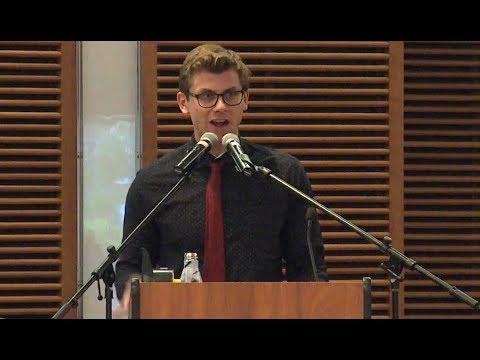 Charlie Berens FULL 2018 UW-Madison J-School Commencement Speech