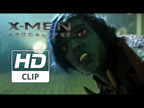 X-Men: Apocalypse | 'Cage Fighting' | Official HD Clip 2016