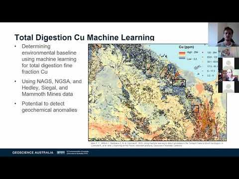 Philip Main - Geoscience Australia's Surface Geochemistry
