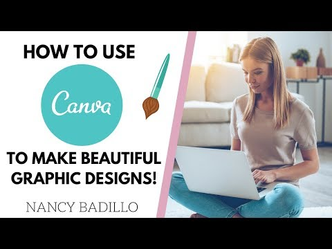 How To Use Canva - Canva Tutorial 2019 - Make Beautiful Graphic Design Today! thumbnail