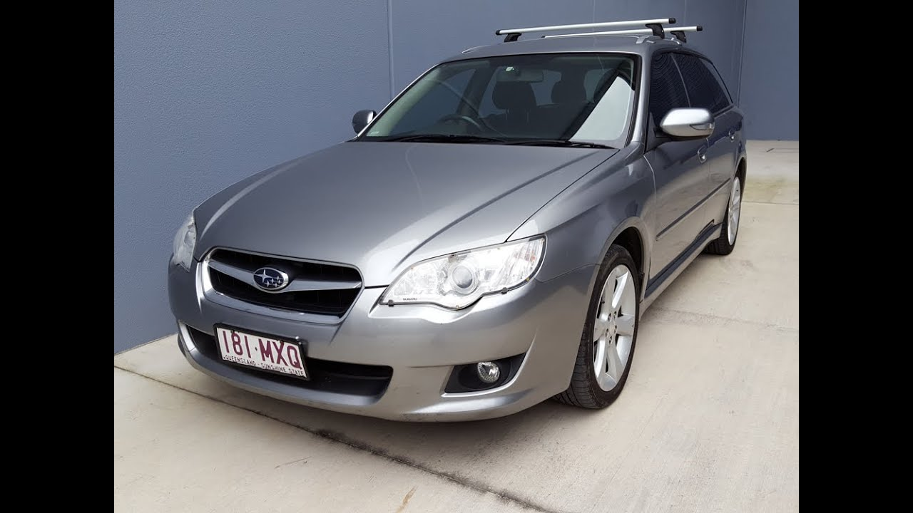 Sold Subaru Liberty Wagon 2007 For Review